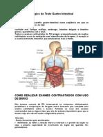 Estudo Radiológico do Trato Gastro Intestinal