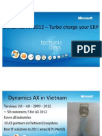 Microsoft Dynamics AX 2012 – Turbo charge your ERP