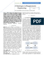 1 the Use of Ontologies in Requirements Engineering