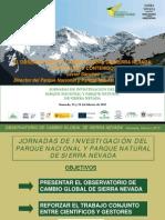 El Observatorio de cambio global de Sierra Nevada. Estructura y contenidos
