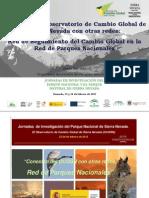 La red de seguimiento del cambio global en la red de parques nacionales
