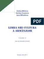 Limba shi cultura a Armânjlor_Ti clasa IV (Jazik_i_kultura_na_Vlasite_4)