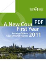 A New Council's First Year