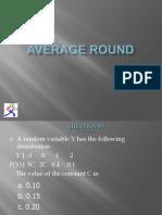 Average Round