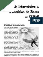 Boletín Informativo de la Comisión de Becas del CEFFyH