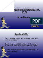 The Payment of Gratuity Act 1972 832