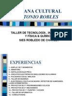 Semana Cultural Antonio Robles