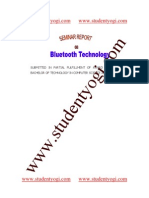 Bluetooth Technology Paper Presentation