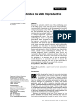 Effects of Pesticides on Male Reproductive Functions