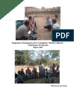 Diagnostico Participativo Comunidad Michel Calderon, Chalchuapa Marzo 2007