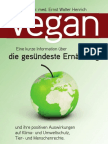 Vegan die gesündeste Ernährung - Dr. med. Ernst Walter Henrich