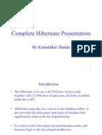 Complete Hibernate Presentation by Kamalakar Dandu