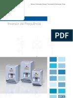 WEG Inversor de Frequencia Cfw 10 10413080 Catalogo Portugues Br