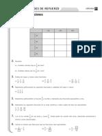 2º ESO, Ficha 14, Fracciones con soluciones