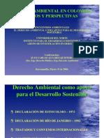 El Derecho Ambiental en Colombia Retos y Perspectivas