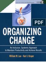 Pfeiffer - Organizing Change