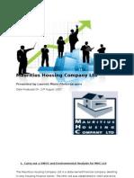 Mauritius Housing Company Ltd