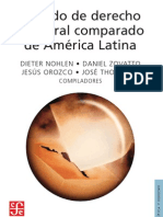 DIETER NOHLEN • DANIEL ZOVATTO. ET. AL. TRATADO DE DERECHO ELECTORAL COMPARADO. F.C.E