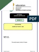 Grade10 Exemplar Accounting