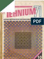 Tehnium 10 1971
