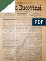 Gazeta Bucovinei # 93, Joi 23 Noiembrie (5 Decembrie) 1895