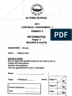 2011-P6-Math-CA1-AiTong