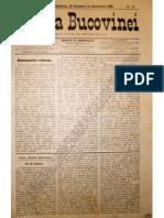 Gazeta Bucovinei # 94, Duminica 26 Noiembrie (8 Decembrie) 1895