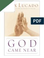 God Came Near - Sample