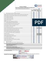 Lista de Chequeo Preventivo 2012 Transporte Escolar