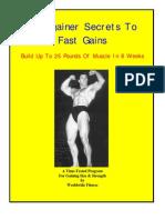 Hardgainers secrets 4 fast gains