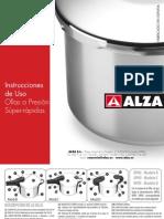 Manual Olla Alza