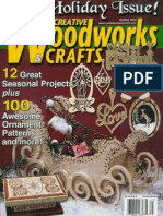 79434599 Creative Woodworks Crafts 103 2004 Holiday