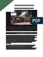 Sistema de Cargos Tradicionales en El Pueblo P