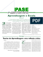 Teorias Da Aprendizagem APASE Abr. 2008