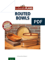 Routed Bowls