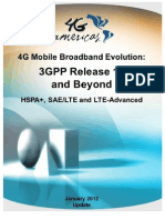 4G Americas 3GPP Rel-10 Beyond January 2012 Update