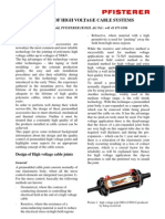 Pfisterer Cable Joints & Cross Bonding for High Voltage Cables