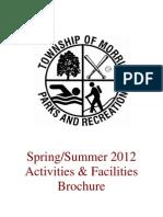 Spring-Summer 2012 Parks & Recreation Brochure