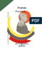 Poetas Populares Do Concelho de Beja 1987 - 1 a 117 - Penedo Gordo