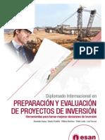 Tríptico Diplomado en Prepración y Evaluación de Proyectos de Inversión