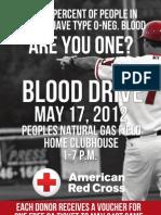 Blood Drive Flyer - 7 Percent