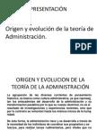 Teoría de Administración