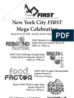 First NYC Mega Celebration Newspaper