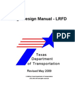 1-Bridgedesign Manual LRFD2009 TEXAS