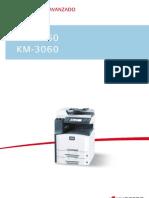 KM-2560 KM-3060 Guia de Uso ES
