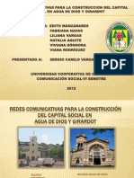 EXPOSICIÓN COMUNICACIÓN PARA EL DESARROLLO