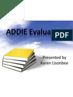 evaluation for class presentation