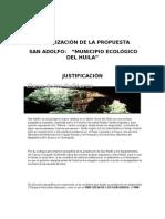 MUNICIPALIZACIÓN DE SAN ADOLFO HUILA