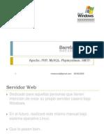 Crear Servidor Web