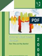 Gower Books 2009 (ROW)